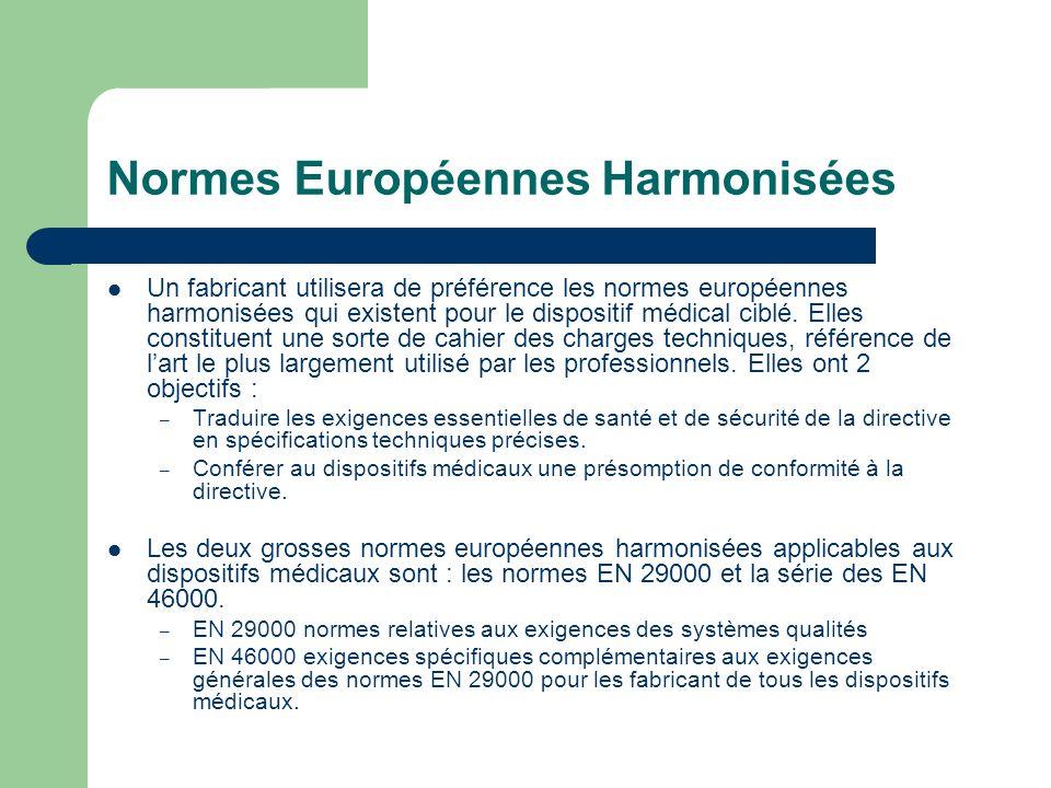 Normes Européennes Harmonisées