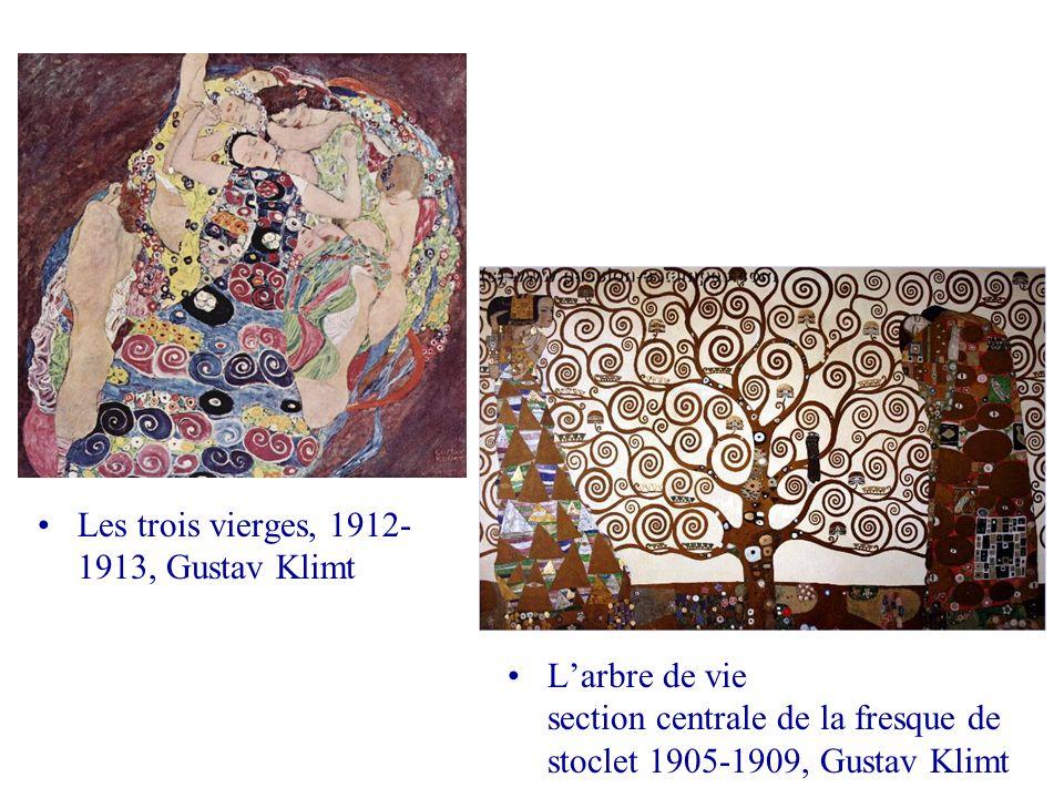 Les trois vierges, 1912-1913, Gustav Klimt