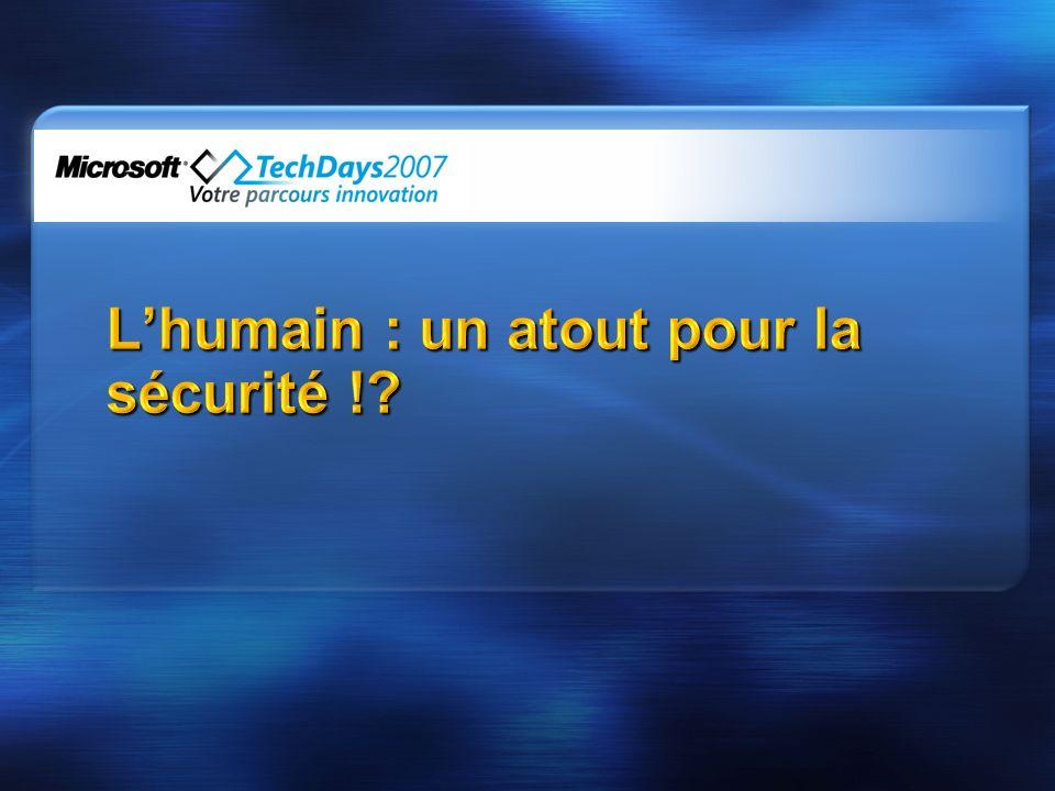 L'humain : un atout pour la sécurité !