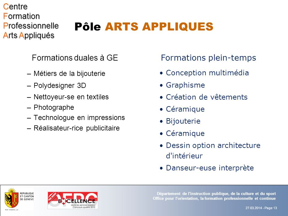 Formations plein-temps