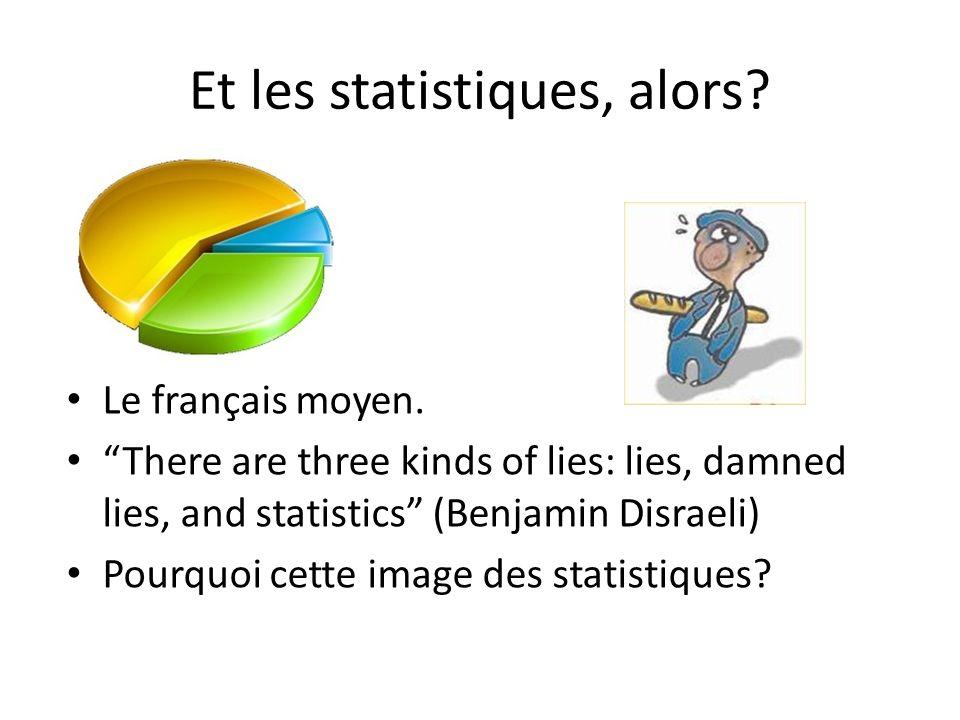 Et les statistiques, alors