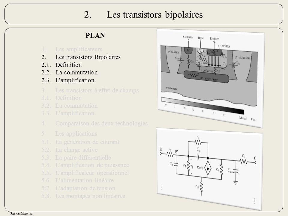 2. Les transistors bipolaires