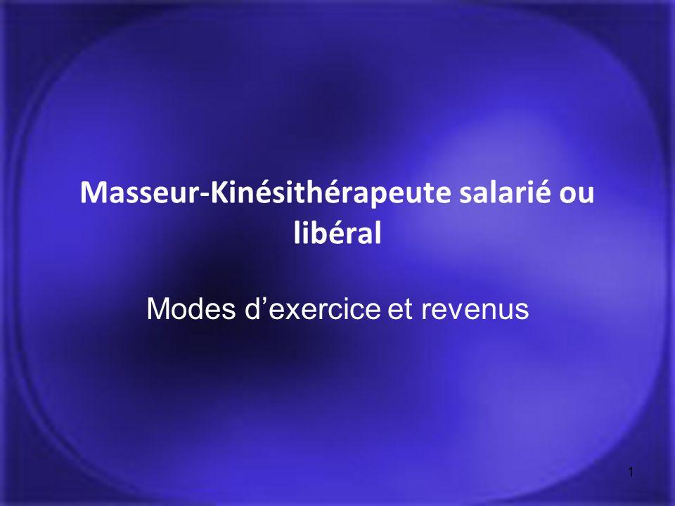 Masseur-Kinésithérapeute salarié ou libéral