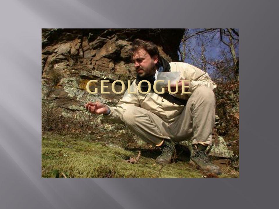 Fiche metier geologue minier