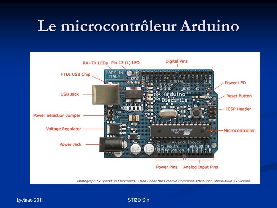 Le microcontrôleur Arduino