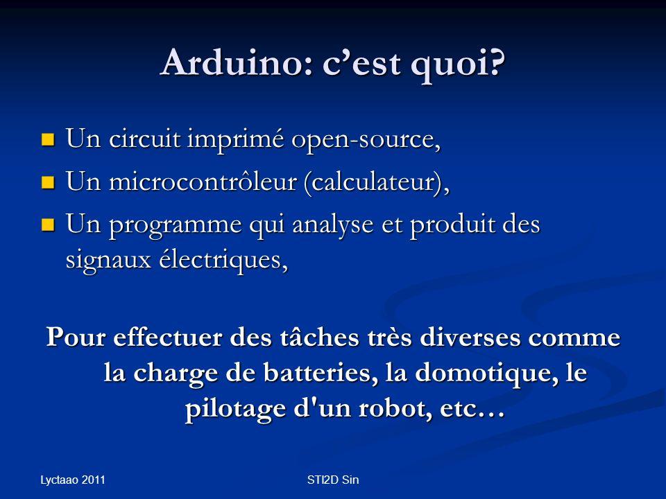 Arduino: c'est quoi Un circuit imprimé open-source,