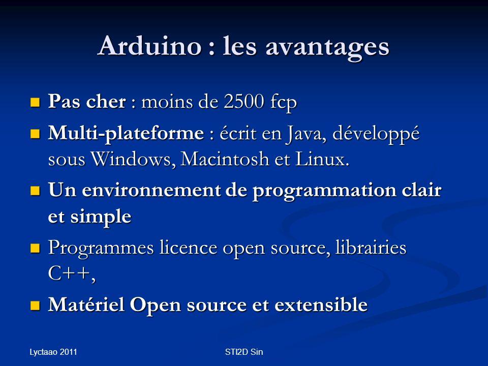 Arduino : les avantages