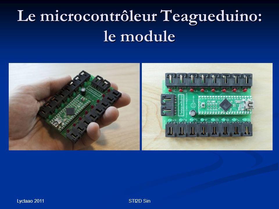 Le microcontrôleur Teagueduino: le module