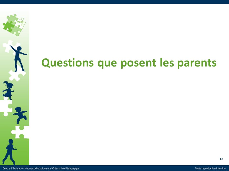 Questions que posent les parents