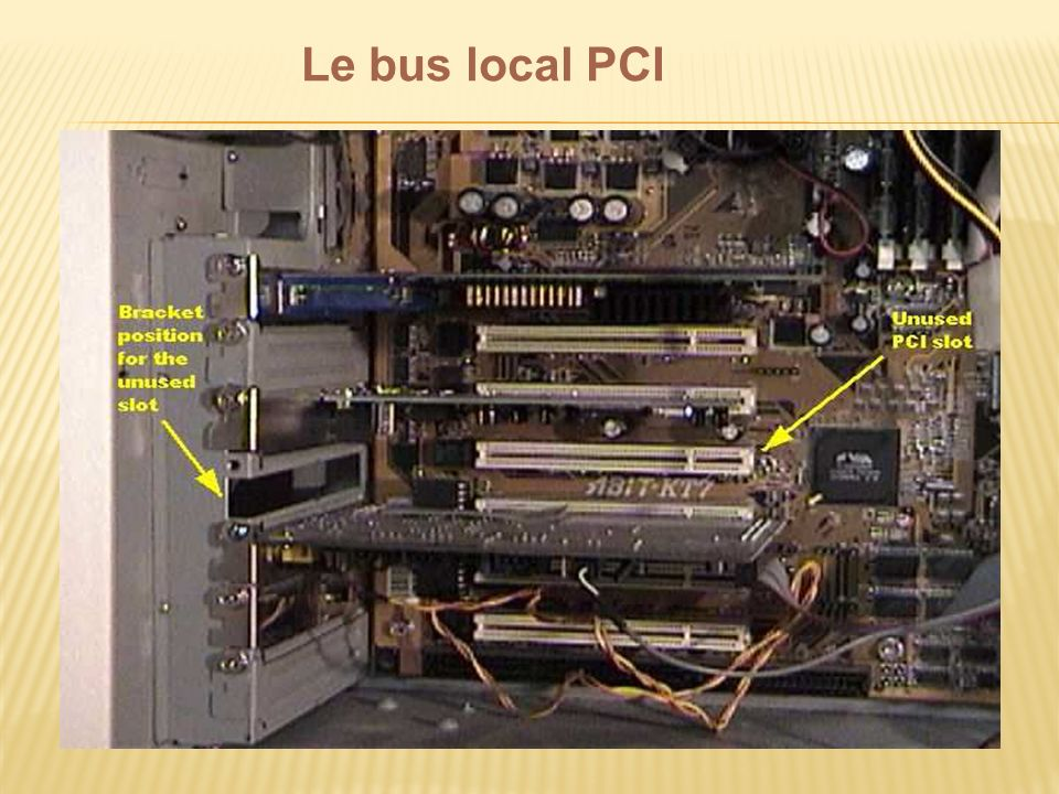 Le bus local PCI