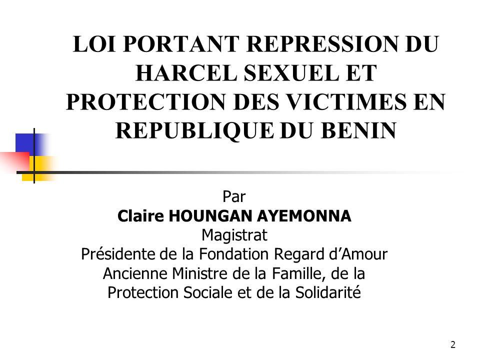 Claire HOUNGAN AYEMONNA