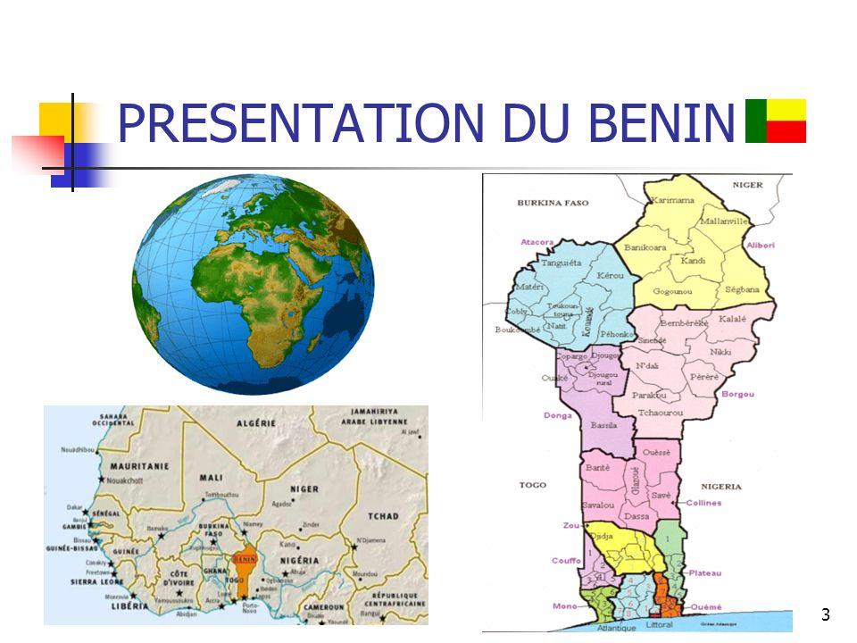 PRESENTATION DU BENIN