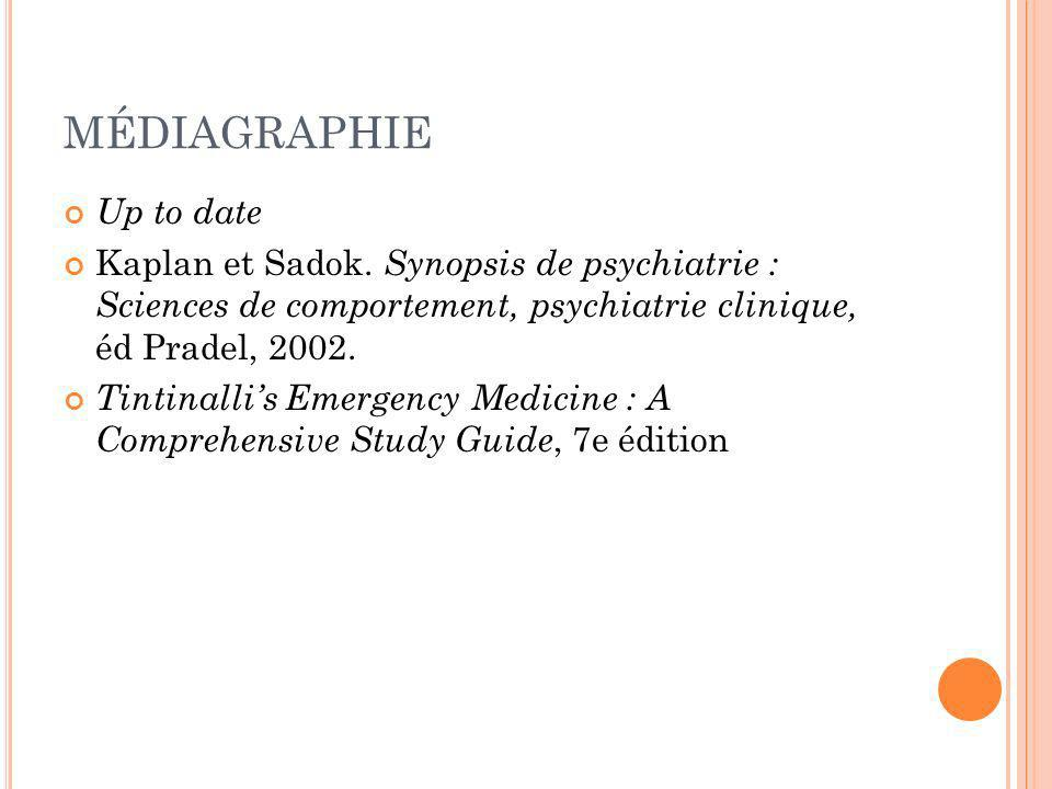 MÉDIAGRAPHIE Up to date