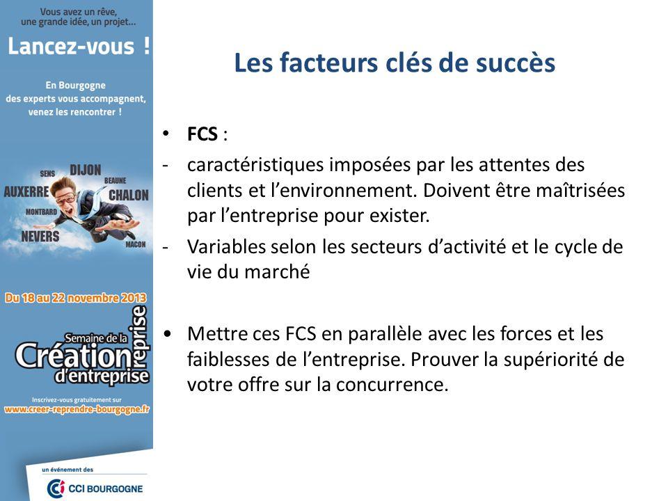 Les facteurs clés de succès