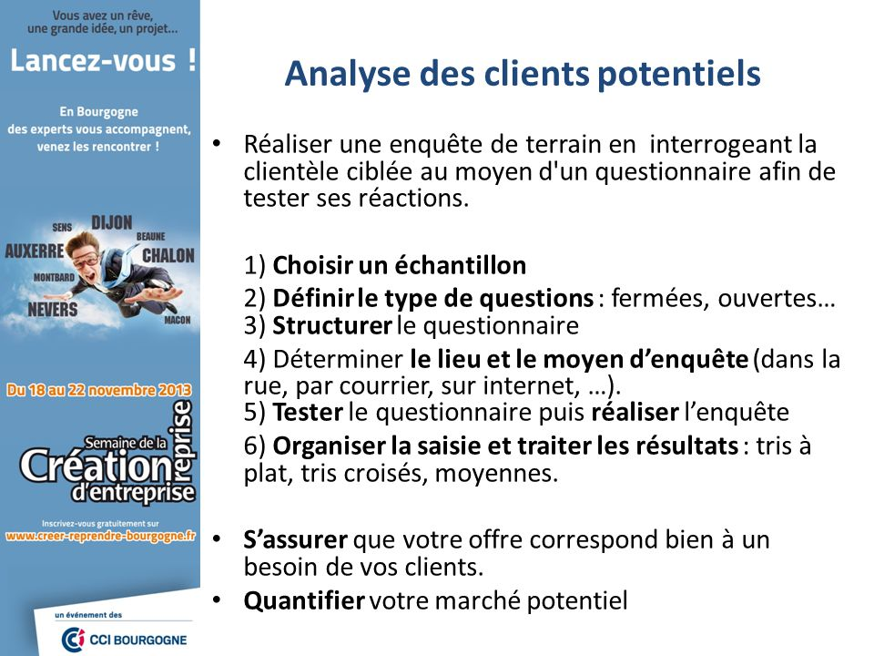 Analyse des clients potentiels