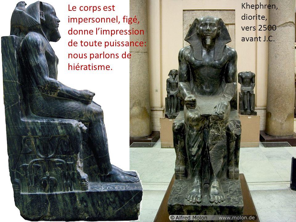 Khephren, diorite, vers 2500 avant J.C.