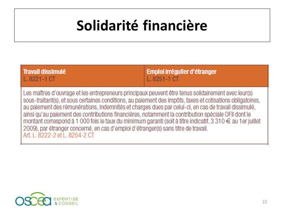 Solidarité financière