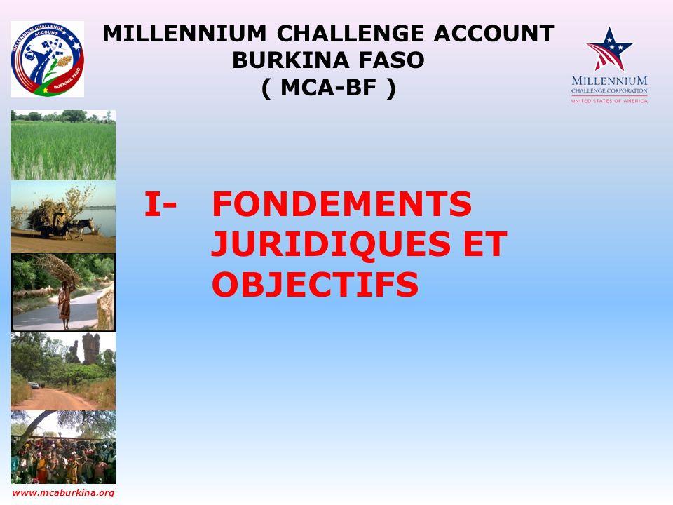 MILLENNIUM CHALLENGE ACCOUNT