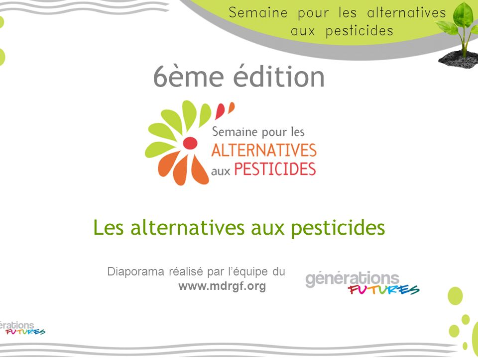 Les alternatives aux pesticides