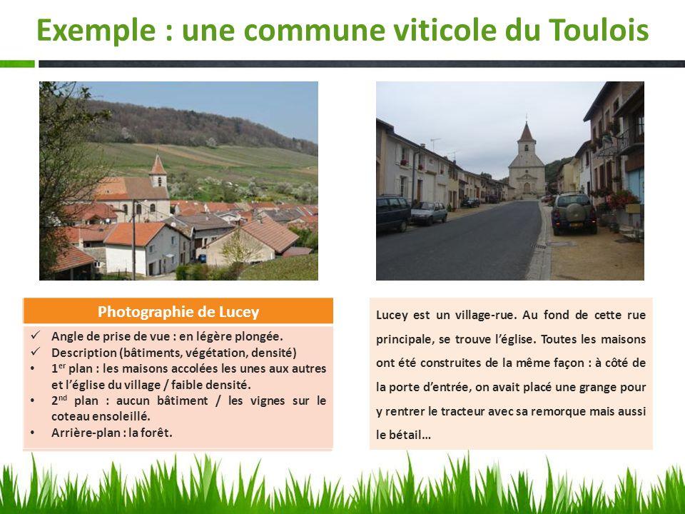 Exemple : une commune viticole du Toulois