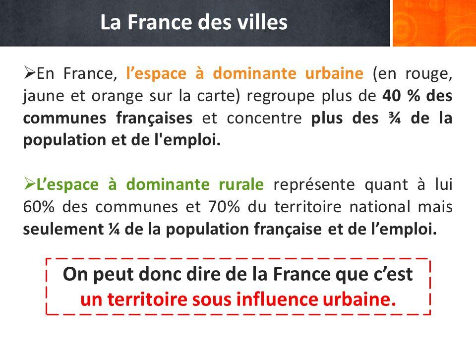 La France des villes