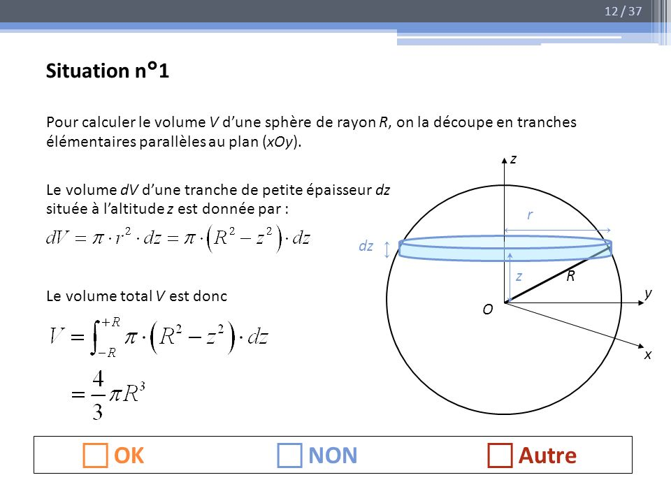  OK  NON  Autre Situation n°1