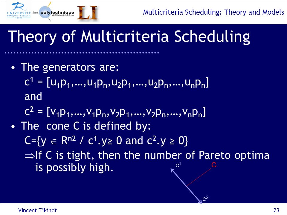 Theory of Multicriteria Scheduling