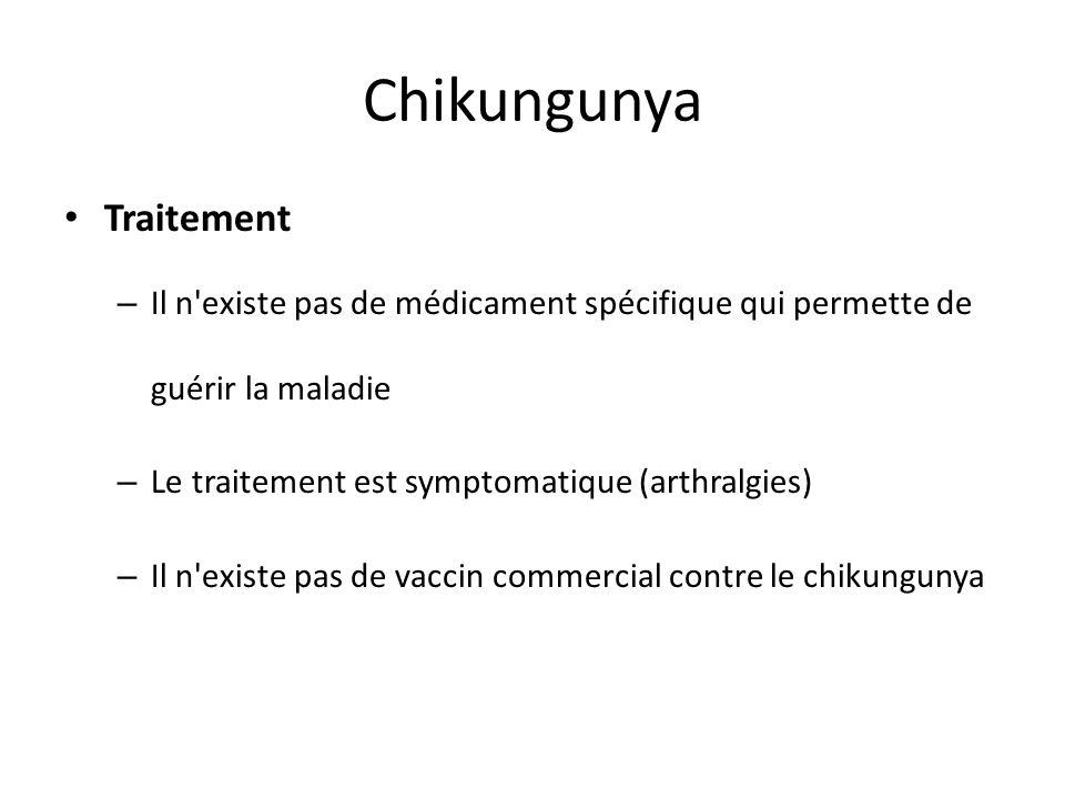 Chikungunya Traitement