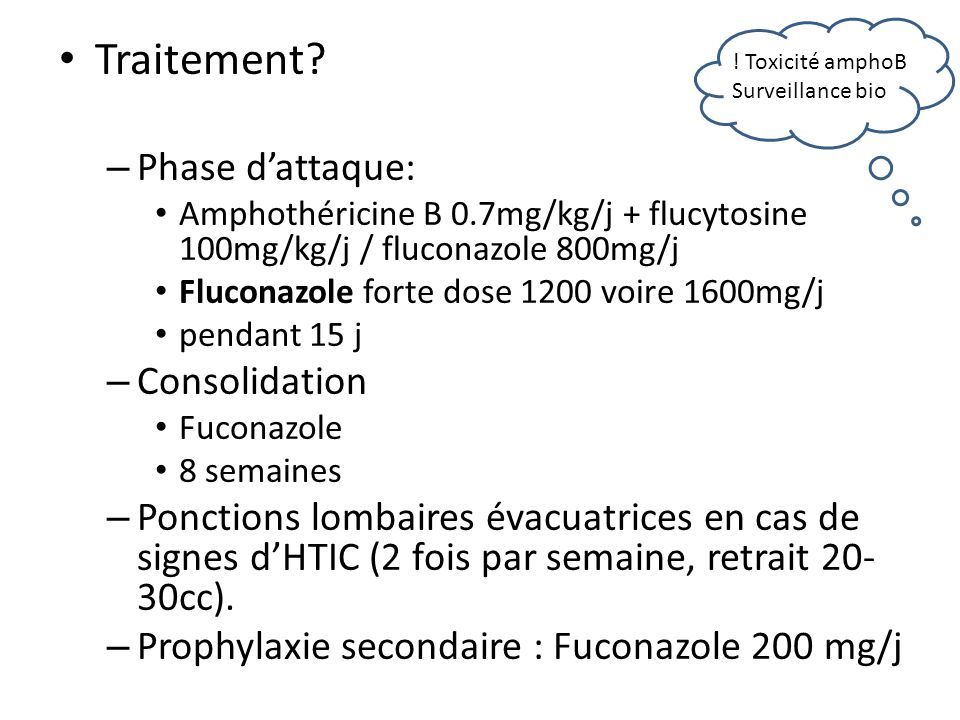Traitement Phase d'attaque: Consolidation
