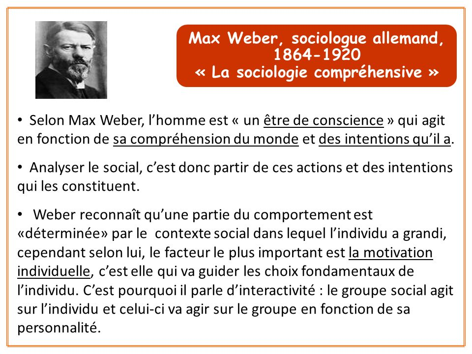 Max Weber, sociologue allemand, 1864-1920