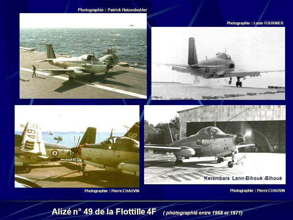 Alizé n° 49 de la Flottille 4F ( photographié entre 1968 et 1971)
