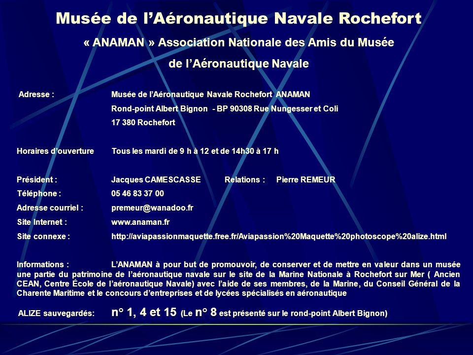 Musée de l'Aéronautique Navale Rochefort