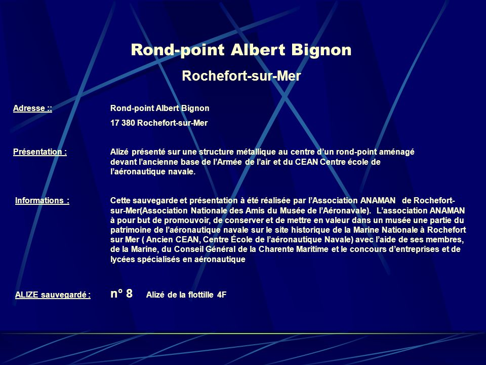 Rond-point Albert Bignon