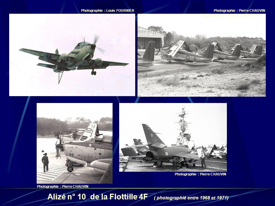 Alizé n° 10 de la Flottille 4F ( photographié entre 1968 et 1971)