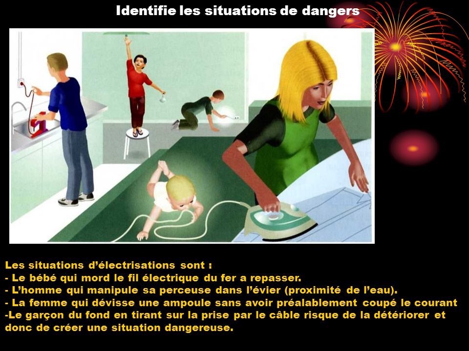Identifie les situations de dangers