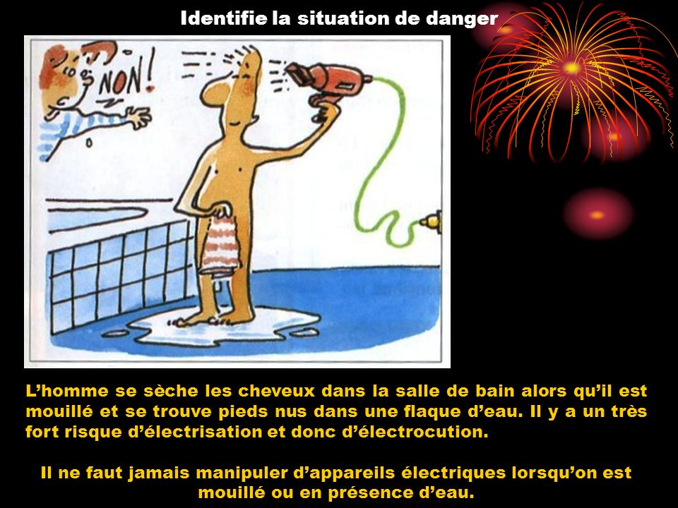 Identifie la situation de danger