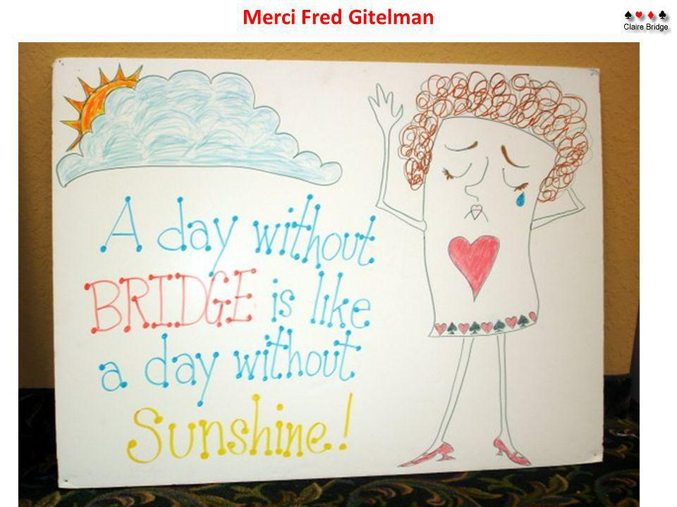Merci Fred Gitelman