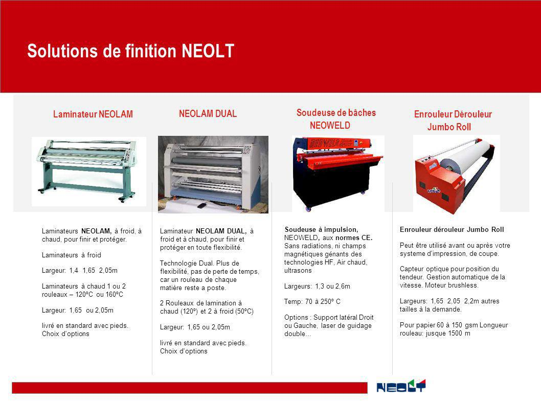 Solutions de finition NEOLT