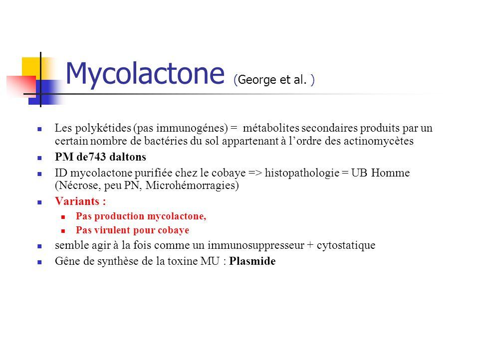 Mycolactone (George et al. )