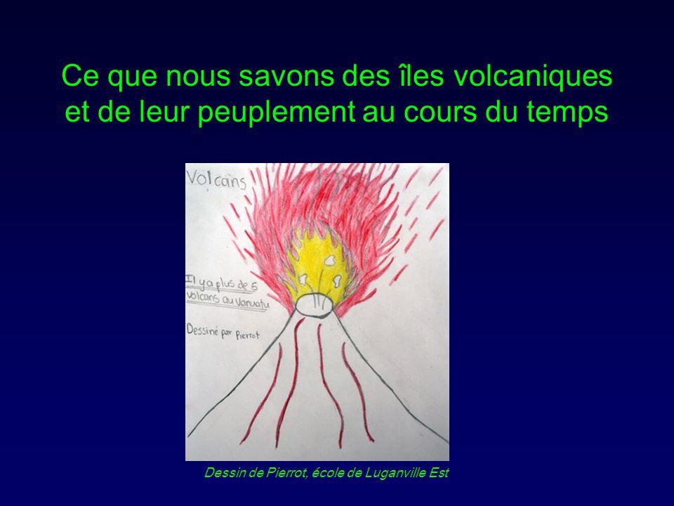 Ce que nous savons des îles volcaniques et de leur peuplement au cours du temps