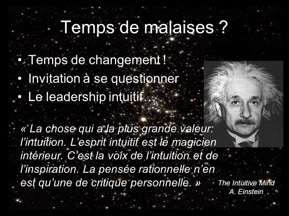 The Intuitive Mind A. Einstein