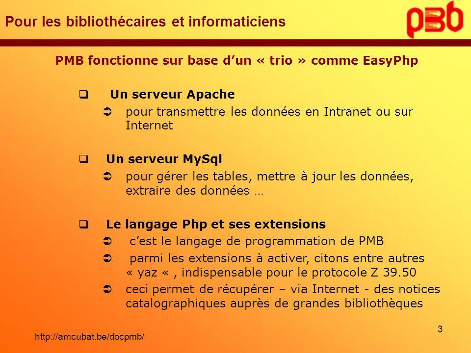Pour les bibliothécaires et informaticiens