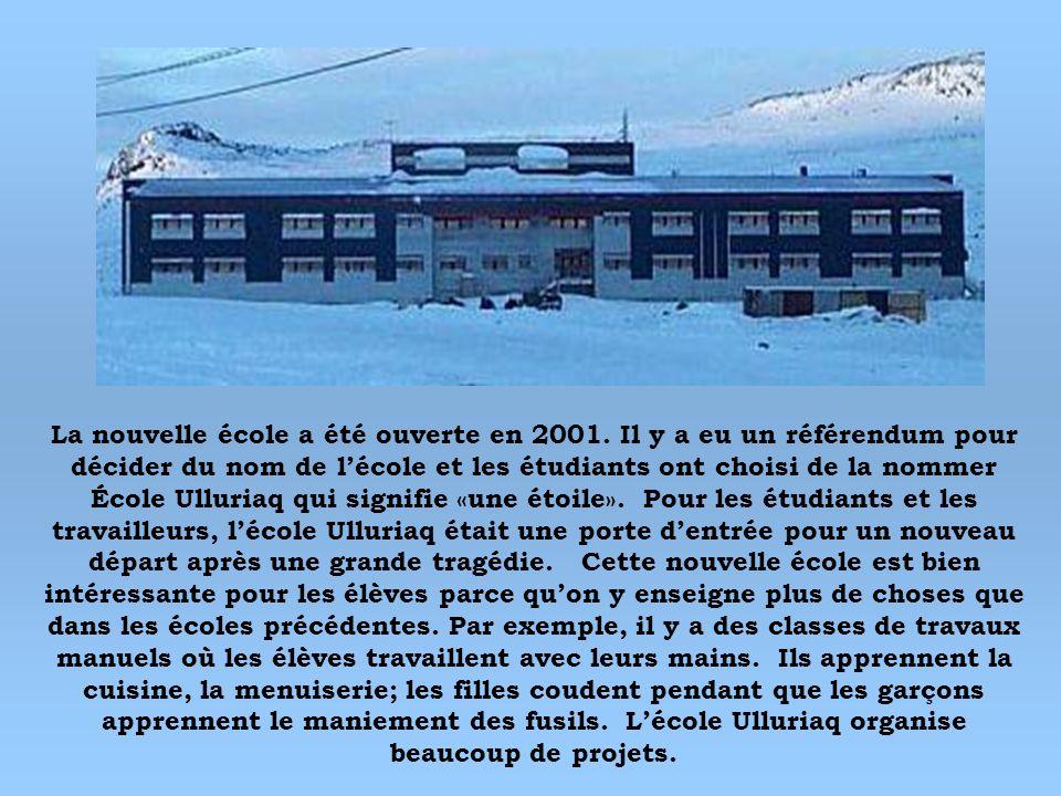 La nouvelle école a été ouverte en 2001
