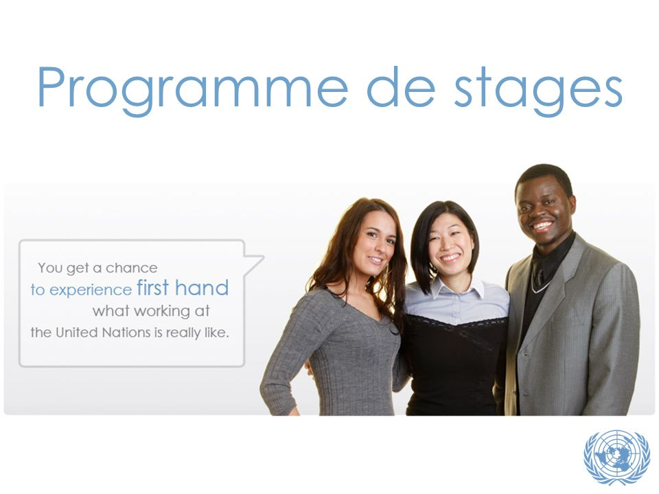 Programme de stages Note du traducteur