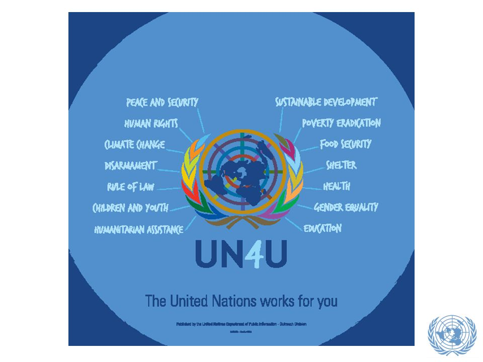 La famille des organisations de l ONU traite de tout un ensemble de questions et offre de nombreuses opportunités dans un large choix de domaines.
