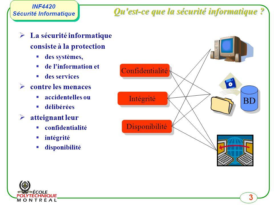 Qu est-ce que la sécurité informatique