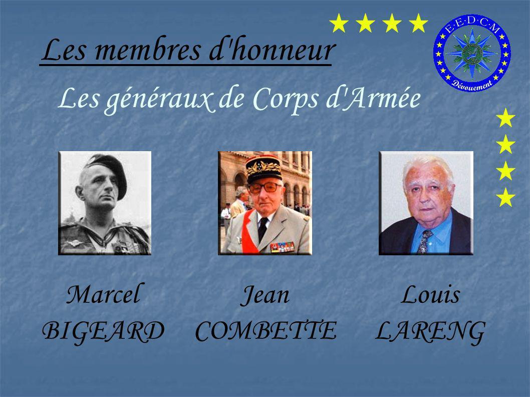 Les généraux de Corps d Armée