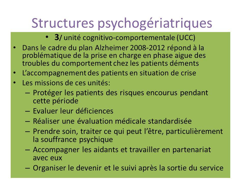 Structures psychogériatriques