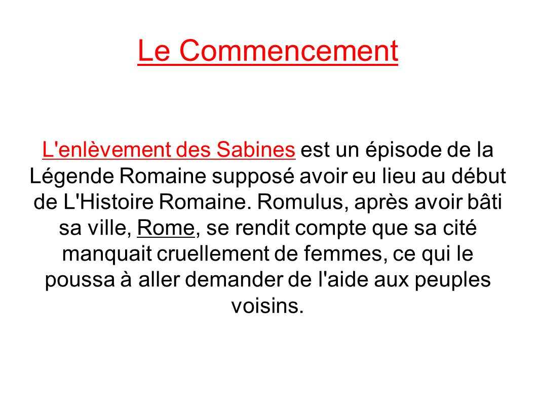 Très L'enlèvement des Sabines - ppt télécharger BD23