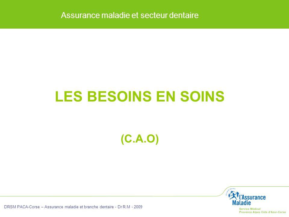 LES BESOINS EN SOINS (C.A.O)
